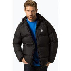 Adidas Originals - Damska dwustronna kurtka puchowa, czarny. Szare kurtki damskie pikowane marki adidas Originals, na co dzień, z nadrukiem, z bawełny, casualowe, z okrągłym kołnierzem, proste. Za 699,95 zł.