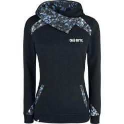 Odzież damska: Call Of Duty Skull Bluza z kapturem damska czarny