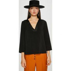 Vero Moda - Bluzka. Szare bluzki asymetryczne Vero Moda, l, z elastanu. W wyprzedaży za 99,90 zł.