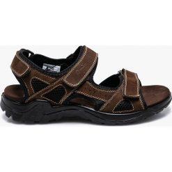 American Club - Sandały. Czarne sandały męskie skórzane marki American CLUB. W wyprzedaży za 99,90 zł.