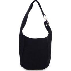 Torebki klasyczne damskie: Skórzana torebka w kolorze czarnym – 38 x 24 x 30 cm