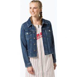 Tommy Jeans - Damska kurtka jeansowa, niebieski. Niebieskie bomberki damskie Tommy Jeans, s, z jeansu. Za 649,95 zł.