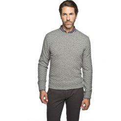 Sweter benson półgolf szary. Szare swetry klasyczne męskie marki Recman, m, z długim rękawem. Za 129,99 zł.