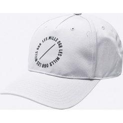 Reebok - Czapka. Szare czapki z daszkiem męskie Reebok, z bawełny. W wyprzedaży za 59,90 zł.