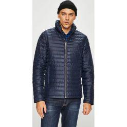 Calvin Klein Jeans - Kurtka puchowa. Szare kurtki męskie bomber Calvin Klein Jeans, l, z jeansu. Za 799,90 zł.