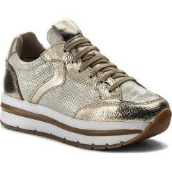 Sneakersy VOILE BLANCHE - Margot Star 0012012388.07.9166 Platino/Auorio. Żółte sneakersy damskie Voile Blanche, ze skóry. W wyprzedaży za 519,00 zł.