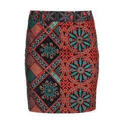 Desigual Spódnica Damska Henri 40 Czerwony. Czerwone spódniczki marki Desigual. W wyprzedaży za 219,00 zł.