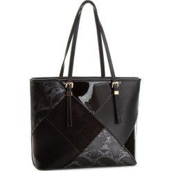 Torebka JENNY FAIRY - RC9474C Black. Czarne torebki klasyczne damskie marki Jenny Fairy, z materiału. Za 119,99 zł.