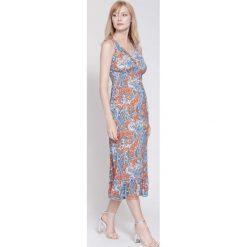 Sukienki: Pomarańczowa Sukienka Colors Of My Dream