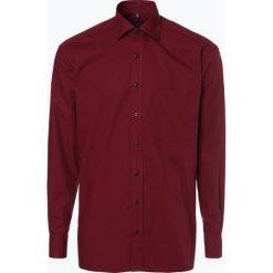 Koszule męskie na spinki: Eterna Comfort Fit - Koszula męska niewymagająca prasowania, czerwony