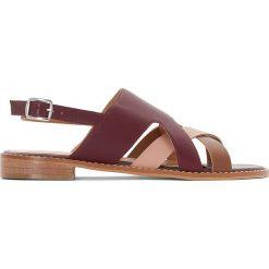 Rzymianki damskie: Skórzane sandały
