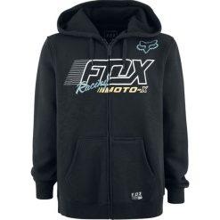 Bejsbolówki męskie: Fox Flection Zip Fleece Bluza z kapturem rozpinana czarny