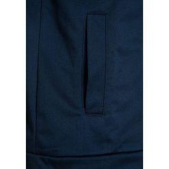 Bench TRICOT DOUBLE ZIP TRACK Kurtka sportowa dark navy blue. Niebieskie kurtki dziewczęce sportowe marki Bench, z materiału. W wyprzedaży za 152,10 zł.