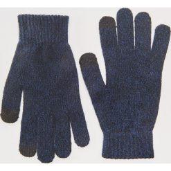 Rękawiczki - Granatowy. Niebieskie rękawiczki męskie marki House. Za 19,99 zł.