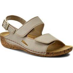 Rzymianki damskie: Sandały INBLU – GO051N45  Beżowy