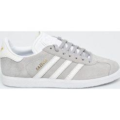 Adidas Originals - Buty Gazelle W. Brązowe buty sportowe damskie marki adidas Originals, z bawełny. W wyprzedaży za 349,90 zł.