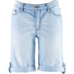 Szorty damskie: Szorty dżinsowe bonprix jasnoniebieski