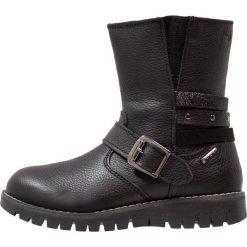Primigi Botki kowbojki i motocyklowe nero. Czarne buty zimowe damskie Primigi, z materiału. W wyprzedaży za 291,85 zł.