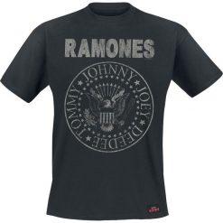 Ramones Hey Ho Let's Go - Vintage T-Shirt czarny. Czarne t-shirty męskie Ramones, s, z napisami. Za 74,90 zł.