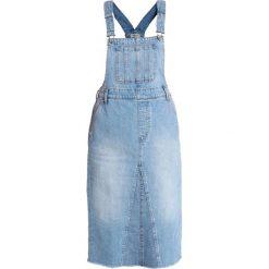 Madewell REWORKED DUNGAREE OVERALL DRESS Sukienka jeansowa loretta wash. Niebieskie sukienki Madewell, z bawełny. Za 529,00 zł.