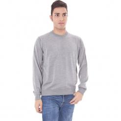 Sweter w kolorze szarym. Niebieskie swetry klasyczne męskie marki GALVANNI, l, z okrągłym kołnierzem. W wyprzedaży za 129,95 zł.
