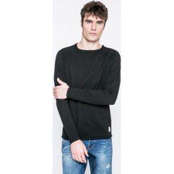 Only & Sons - Sweter. Czarne swetry klasyczne męskie Only & Sons, l, z bawełny, z okrągłym kołnierzem. W wyprzedaży za 89,90 zł.