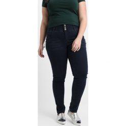 ADIA ROME BUTTONS Jeansy Slim Fit blue dark. Niebieskie jeansy damskie ADIA. W wyprzedaży za 356,15 zł.