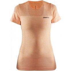 Craft Koszulka Core Ss Orange S. Pomarańczowe bluzki sportowe damskie marki Craft, s, z materiału, z krótkim rękawem. W wyprzedaży za 109,00 zł.