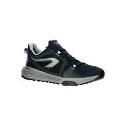 Buty do biegania RUN CONFORT GRIP męskie. Zielone halówki męskie marki KALENJI, z poliesteru, do biegania. W wyprzedaży za 149,99 zł.