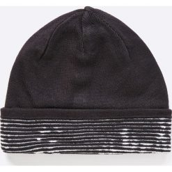 Adidas Performance - Czapka dwustronna. Czarne czapki zimowe męskie adidas Performance, na zimę, z dzianiny. W wyprzedaży za 59,90 zł.