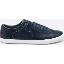 Levi's - Buty Woods. Brązowe buty skate męskie marki Levi's®, z gumy, na sznurówki. W wyprzedaży za 159,90 zł.
