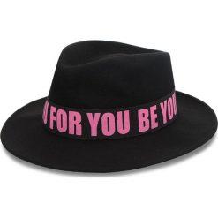 Kapelusz TRUSSARDI JEANS - Fedora Felt 59Z00107 K302. Czarne kapelusze damskie Trussardi Jeans, z jeansu. W wyprzedaży za 229,00 zł.