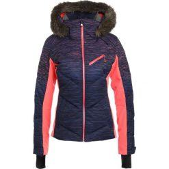 Bomberki damskie: Roxy SNOWSTORM Kurtka snowboardowa neon grapefruit/space dye grad