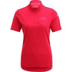 Gore Bike Wear LADY TRIKOT Tshirt z nadrukiem jazzy pink/magenta. Czerwone t-shirty damskie Gore Bike Wear, z nadrukiem, z poliesteru. W wyprzedaży za 209,30 zł.