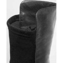 Lamica IRWINE Kozaki nero. Czarne buty zimowe damskie Lamica, z materiału. W wyprzedaży za 493,35 zł.