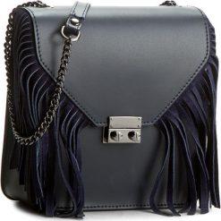Torebka CREOLE - K10210  Ciemny Granatowy. Niebieskie torebki klasyczne damskie Creole, ze skóry. W wyprzedaży za 169,00 zł.