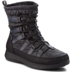 Śniegowce SKECHERS - East Stone 49806/BLK Black. Niebieskie buty zimowe damskie marki Skechers. Za 339,99 zł.