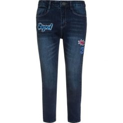 GEORGE GINA & LUCY girls KOPENHAGEN Jeans Skinny Fit fancy blue. Niebieskie jeansy dziewczęce marki Mango Kids, z aplikacjami, z bawełny. W wyprzedaży za 199,20 zł.