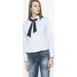 G-Star Raw - Koszula. Szare koszule wiązane damskie marki G-Star RAW, s, z bawełny, casualowe, z długim rękawem. W wyprzedaży za 239,90 zł.