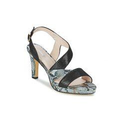 Sandały Metamorf'Ose  RAUCAM. Czarne sandały trekkingowe damskie marki Metamorf'Ose, na platformie. Za 311,20 zł.