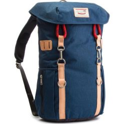 Plecak DOUGHNUT - D201-6904-F Arizona Navy X Charcoal. Niebieskie plecaki męskie Doughnut, z materiału. W wyprzedaży za 289,00 zł.
