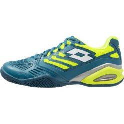 Lotto STRATOSPHERE III CLY    Obuwie do tenisa Outdoor green/white. Niebieskie buty do tenisa męskie Lotto, z materiału. W wyprzedaży za 382,85 zł.