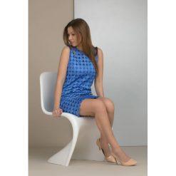 Odzież damska: Sukienka z ażurowymi kółeczkami