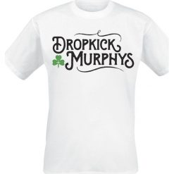 Dropkick Murphys Old World T-Shirt biały. Białe t-shirty męskie z nadrukiem Dropkick Murphys, xxl, z okrągłym kołnierzem. Za 74,90 zł.