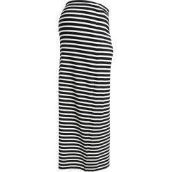 Długie spódnice: Gebe SKIRT BONO Długa spódnica black/white