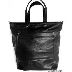 Torba Fio-Coco. Czarne torebki klasyczne damskie Pakamera, ze skóry, duże. Za 499,00 zł.