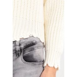Swetry klasyczne damskie: Rich & Royal Sweter off white