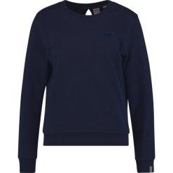 Lacoste LIVE Bluza navy blue. Niebieskie bluzy rozpinane damskie Lacoste LIVE, l, z bawełny. W wyprzedaży za 343,20 zł.