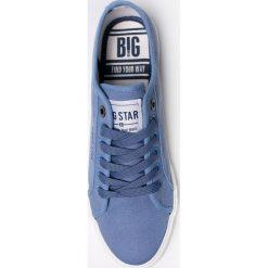 Big Star - Tenisówki. Szare tenisówki męskie marki BIG STAR, z gumy, na sznurówki. W wyprzedaży za 59,90 zł.