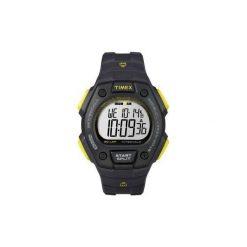 Pulsometr zegarek sportowy Timex Ironman® 50-Lap Memory Chrono. Czarne zegarki męskie Timex, szklane. Za 219,00 zł.